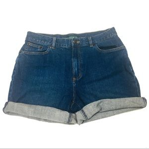 Vintage Lauren Jeans Co. Denim Shorts Size 6